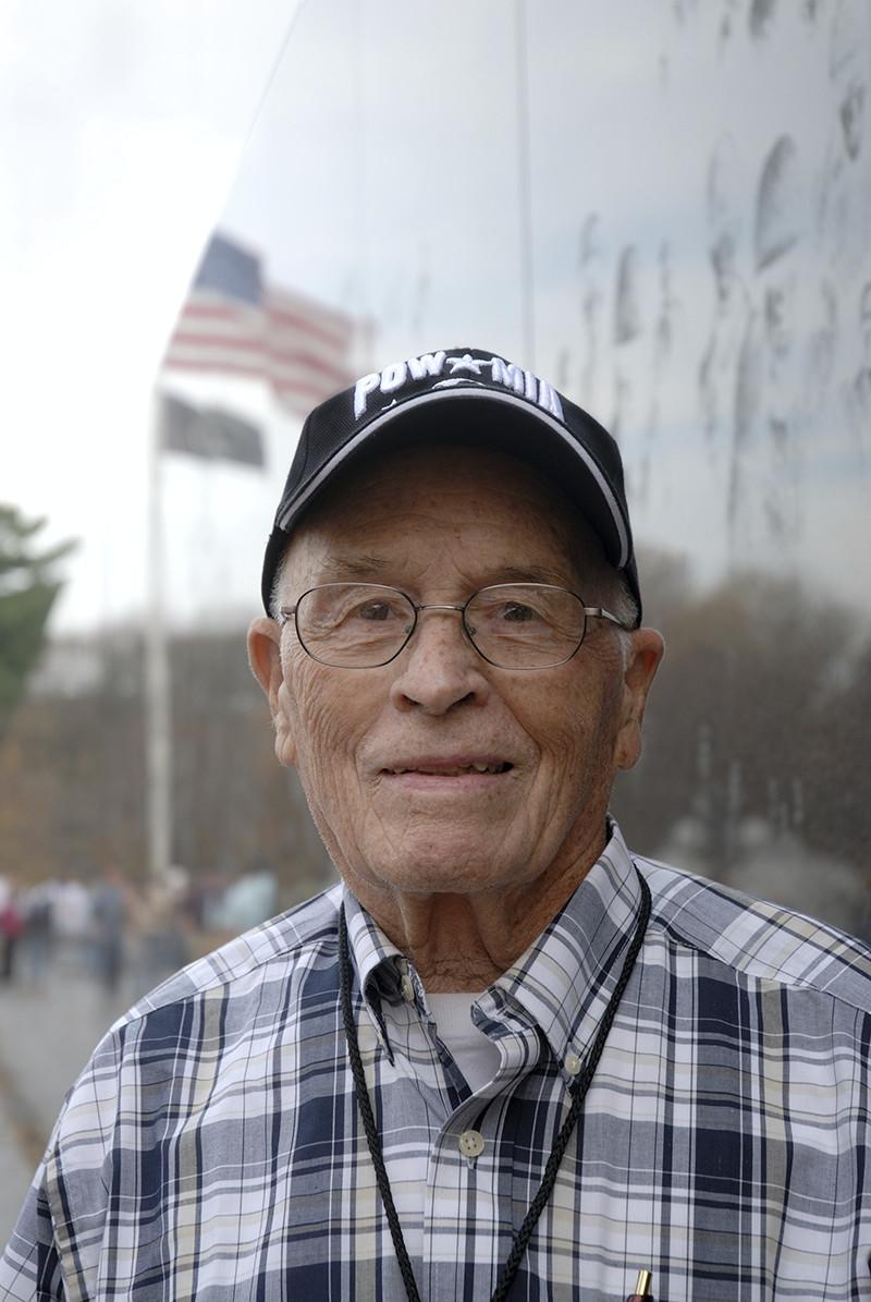 U.S. veteran smiling
